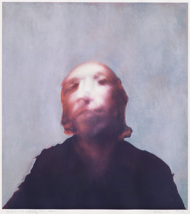 Portrait of the Artist by Francis Bacon