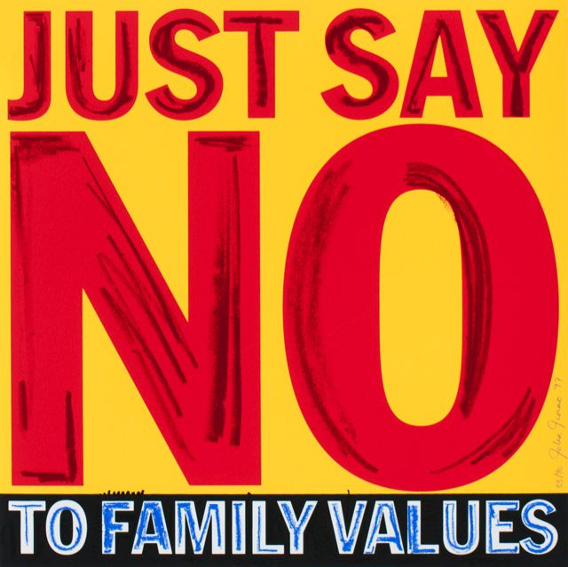 Just say No to Family Values