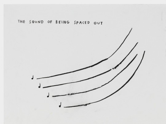 The sound of beeing spaced out