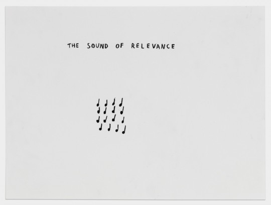The Sound of Relevance (with notes)
